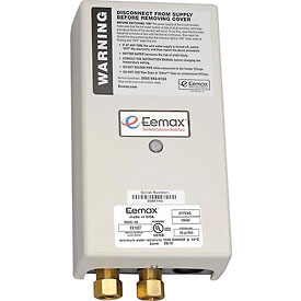 Eemax EX100T Electric Tankless Water Heater, Thermostatic Point Of Use - 10KW 277V 36A