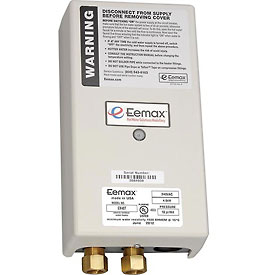 Eemax EX48T Electric Tankless Water Heater, Flo-Controlled Point Of Use 4.8KW 240V 20A