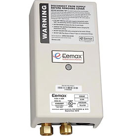 Eemax EX8208T Electric Tankless Water Heater, Thermostatic Point Of Use - 8.3KW 208V 40A
