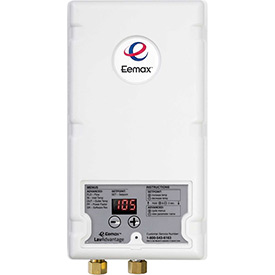 Eemax EX90 Electric Tankless Water Heater, Flo-Controlled Point Of Use 9.0KW 277V 33A