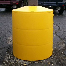 traffic parking lot safety protectors column post light pole. Black Bedroom Furniture Sets. Home Design Ideas