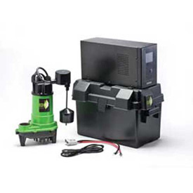 Buy Eco-Flo E130V6 ECO-ONE Battery Backup Sump System 2700 GPH, With Inverter