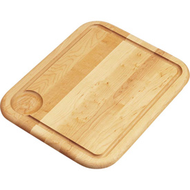 """Click here to buy Elkay, CB1613, Cutting Board, Solid Maple Hardwood, 13-1/2""""Lx16-3/4""""W."""