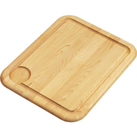"""Click here to buy Elkay, CB1713, Cutting Board, Solid Maple Hardwood, 13-1/2""""Lx17""""W."""