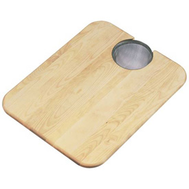 "Click here to buy Elkay, CBS1418, Cutting Board, Solid Maple Hardwood, 11-1/4""Lx15""W."
