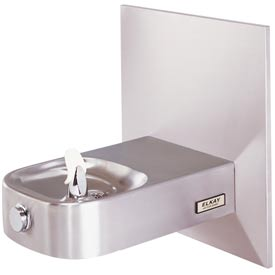 Elkay Slimline® Child ADA Water Fountain, Stainless Steel, Access Panel, Wall Hung, ECDFPW314C