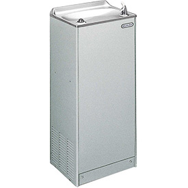 Elkay Deluxe Floor Water Cooler, Stainless Steel, Floor, 115V, 60Hz, 5 Amps, EFA8S1Z