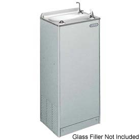 Elkay Deluxe Floor Water Cooler, Stainless Steel, Floor, 115V, 60Hz, 9.7 Amps, EFHA8S1Z