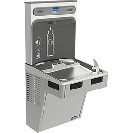 Elkay EMABFDWSLK EZH2O Water Bottle Refilling Station, Non Refrigerated Light Gray