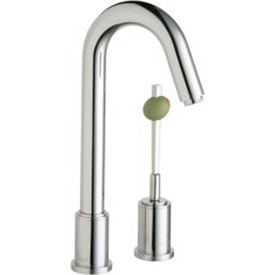Elkay LKM7727PSS, Ella Bar/Prep Faucet W/Martini Olive Handle, Polished SS, Sgl Remote... by