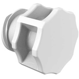 Large Bore Ag Female Plug, Medical Nylon Antimicrobial