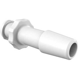 "Eldon James Female Luer with 1/4"" Barb, Polypropylene"