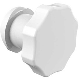 Eldon James Luer Female Plug, CrystalVu™
