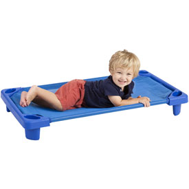 Ecr4kids® Streamline Toddler Cot - Ready To Assemble, Priced Ea, Sold 6/PK - Pkg Qty 6