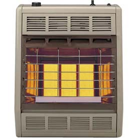 Empire Infrared Heater SR18TLP Liquid Propane 18000 BTU - Thermostatic Control