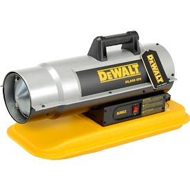 DeWALT® Portable Forced Air Kerosene Heater DXH50K 50,000 BTU