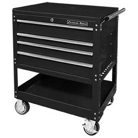 "Extreme Tools 32"" Deluxe Tool Cart in Black by"