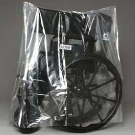 """Low Density Equipment Cover on Roll, 1 mil, 28"""" x 22"""" x 60"""", Clear, Pkg Qty 150"""