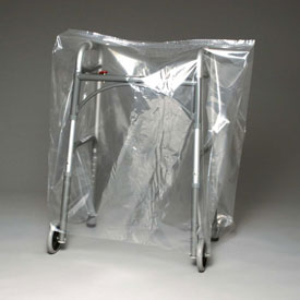 """Low Density Equipment Cover on Roll, 1 mil, 80"""" x 52"""", Clear, Pkg Qty 200"""