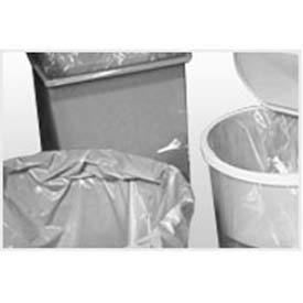 "High Density 7-10 gal. Trash Can Liner, 6 Microns, 24"" x 24"", Package Count 1000 by"