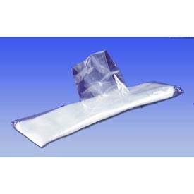 High Density Silverware Bags Flat Packed With Flip-Top Closure 10 x 3.25 0.5 Mil, Package Count 2000 by