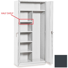 "Equipto Extra Half Shelf For 36""W x 18""D Combination Cabinet - Smooth Office Gray"