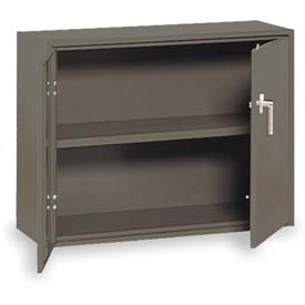 "Equipto Handy Cabinet, 36""W x 13""D x 27""H, Smooth Office Gray"