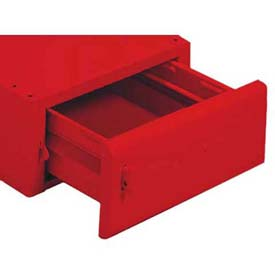 Equipto® Drawer For Mounting Under Bench 221A-RD, Additional Unit, Cherry Red