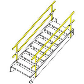"Equipto Stairway 30""W With 7 Stairs"