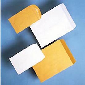 Business Weight White Catalog Envelopes, Gummed, 24-lb., 9 x 12, 250/Box