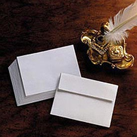 Invitation Envelopes, 24-lb. White, #5-1/2, 4-3/8 x 5-3/4, 500/Box