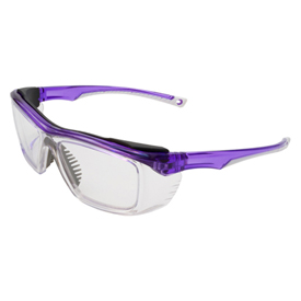 ERB Susan Safety Glasses, Purple Frame, Clear Lens, 15350 Package Count 12 by