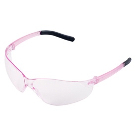 ERB Grace Safety Glasses, Pink Frame, Soft Pink Lens, 18596 Package Count 12 by