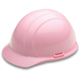 ERB 19775 Americana Hardhat, 4-Point Ratchet Suspension, Light Pink Package Count 12 by