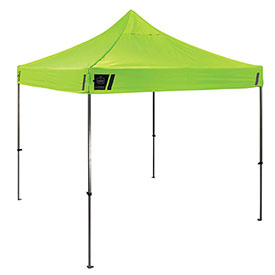 SHAX® 6000 Portable Utility Tent - Lime