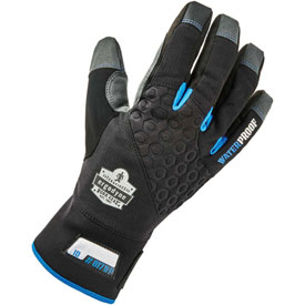 Ergodyne® ProFlex® 817WP Thermal Waterproof Utility Gloves, Black, Medium