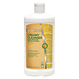 Earth Friendly Products Creamy Cleanser, 17 oz. Squeeze Bottle 6/Case PL9701/6 by