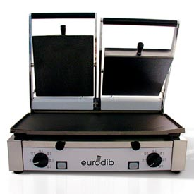 Eurodib/ Sirman Double Panini Grill 220 Volt by