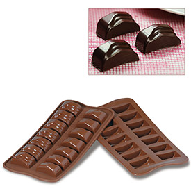 Silikomart SCG09 Baking Mold, Baking Mold, Jack, Silicone, Makes 14 Pieces by