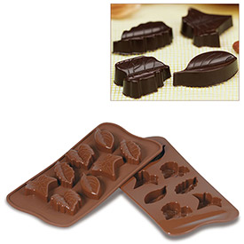 Silikomart SCG10 Baking Mold, Baking Mold, Nature, Silicone, Makes 8 Pieces by