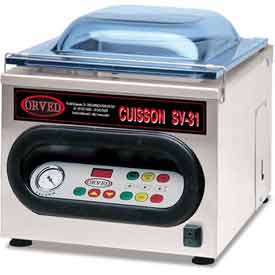 ORVED Chamber Vacuum With 3L Vertical Tank, Inert Gas System 120V SV31N by