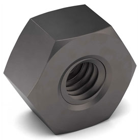 7/16-20 Heavy Hex Nut 2H Carbon Steel Plain Fine Package of 100 by
