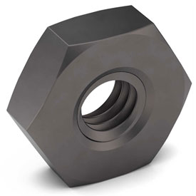 5/8-11 NE Heavy Hex Jam Nut Grade 2 Carbon Steel Plain Coarse Package of 50 by