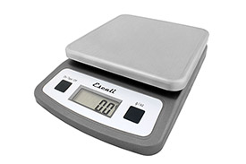 "Escali Digital Scale NSF Certified 2lb x 0.05 oz / 1kg x 0.5g 5-3/4"" x 5-3/4""... by"