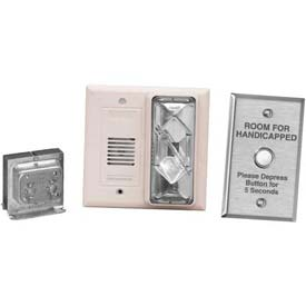 Edwards Signaling 7005-G5 Hotel Room Annunciator Kit, White