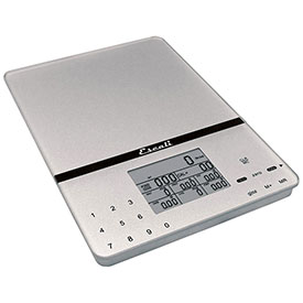 Digital Nutrition Scale 11lb x 0.1oz/5000g x 1g With Touch Glass Display