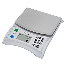 Escali 136 Pana Baker's Digital Kitchen Scale, 13lb x 0.1oz./6000g x 1g, Stainless Steel by