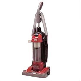 Sanitaire® 3.52 Qt. True HEPA Commercial Bagless/Cyclonic Upright Vacuum, Red - SC5845B