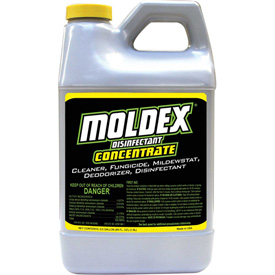 Moldex Mold Killer & Mildew Killer & Cleaner Concentrate, 64oz Bottle 1/Case 5510 Package Count 4 by
