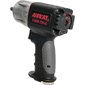 "AIRCAT 1300-TH-A 3/8"" Impact Wrench 10,000 RPM Composite Twin Hammer  by"